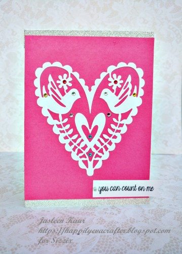 set of 'heart' cards-4