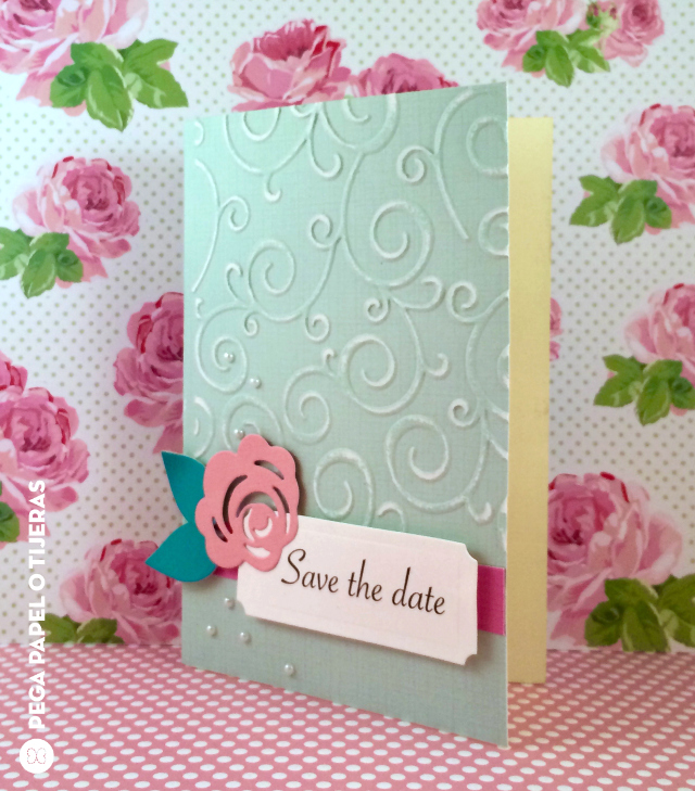 Diy Wedding How To Make A Save The Date Card Eroche Daily