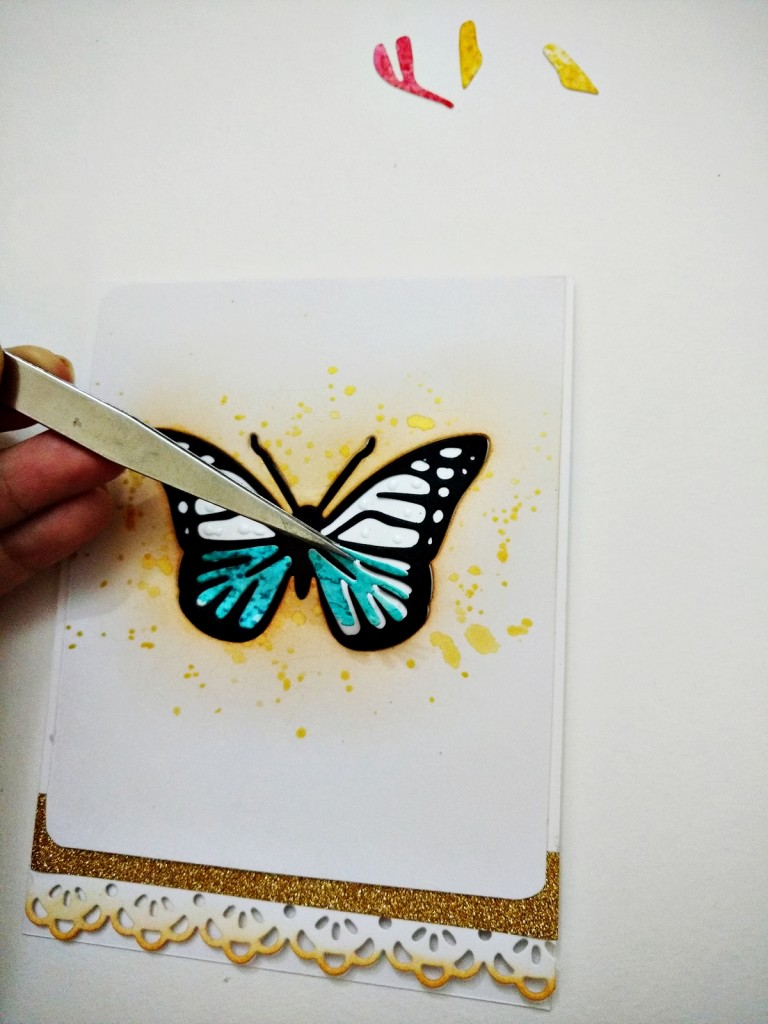 Inlaid diecut butterfly card-step-8