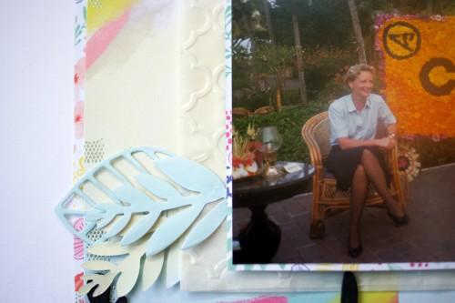 embossed glassine bag photo mat