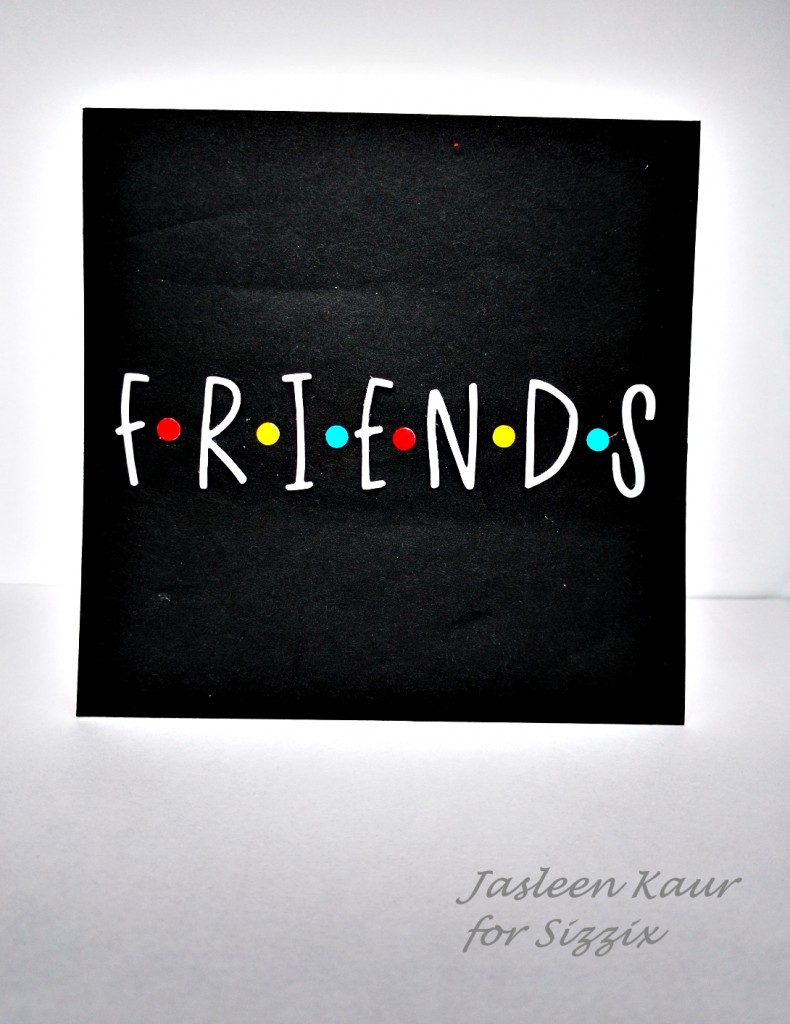 Friends-inspired card 1