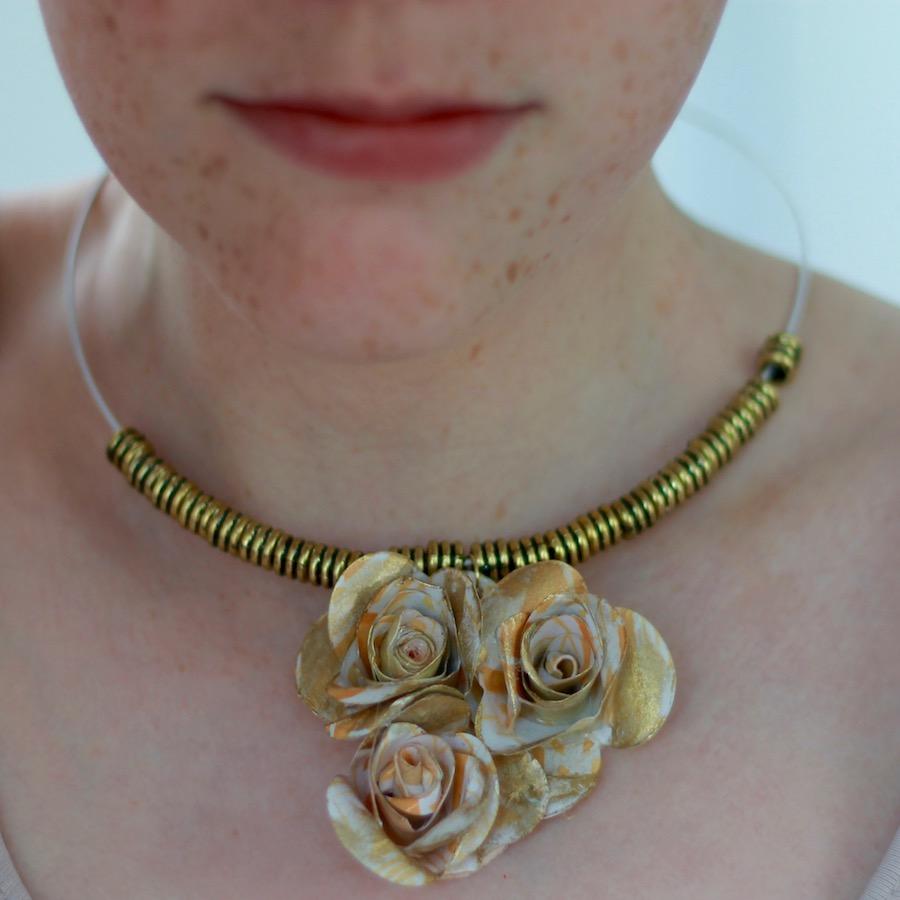 A Floral Necklace