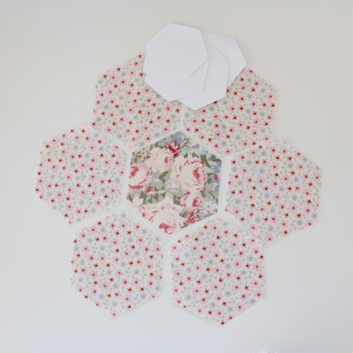 Make a Hexagon tutorial by Molly and Mama - 1