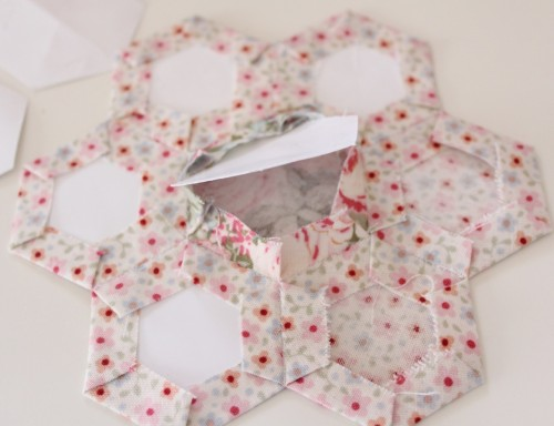 Make a Hexagon tutorial by Molly and Mama - 11