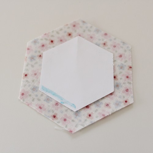 Make a Hexagon tutorial by Molly and Mama - 3