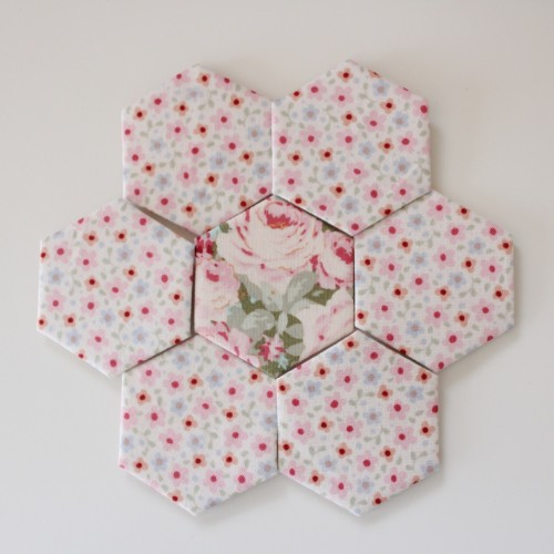 Make a Hexagon tutorial by Molly and Mama - 9