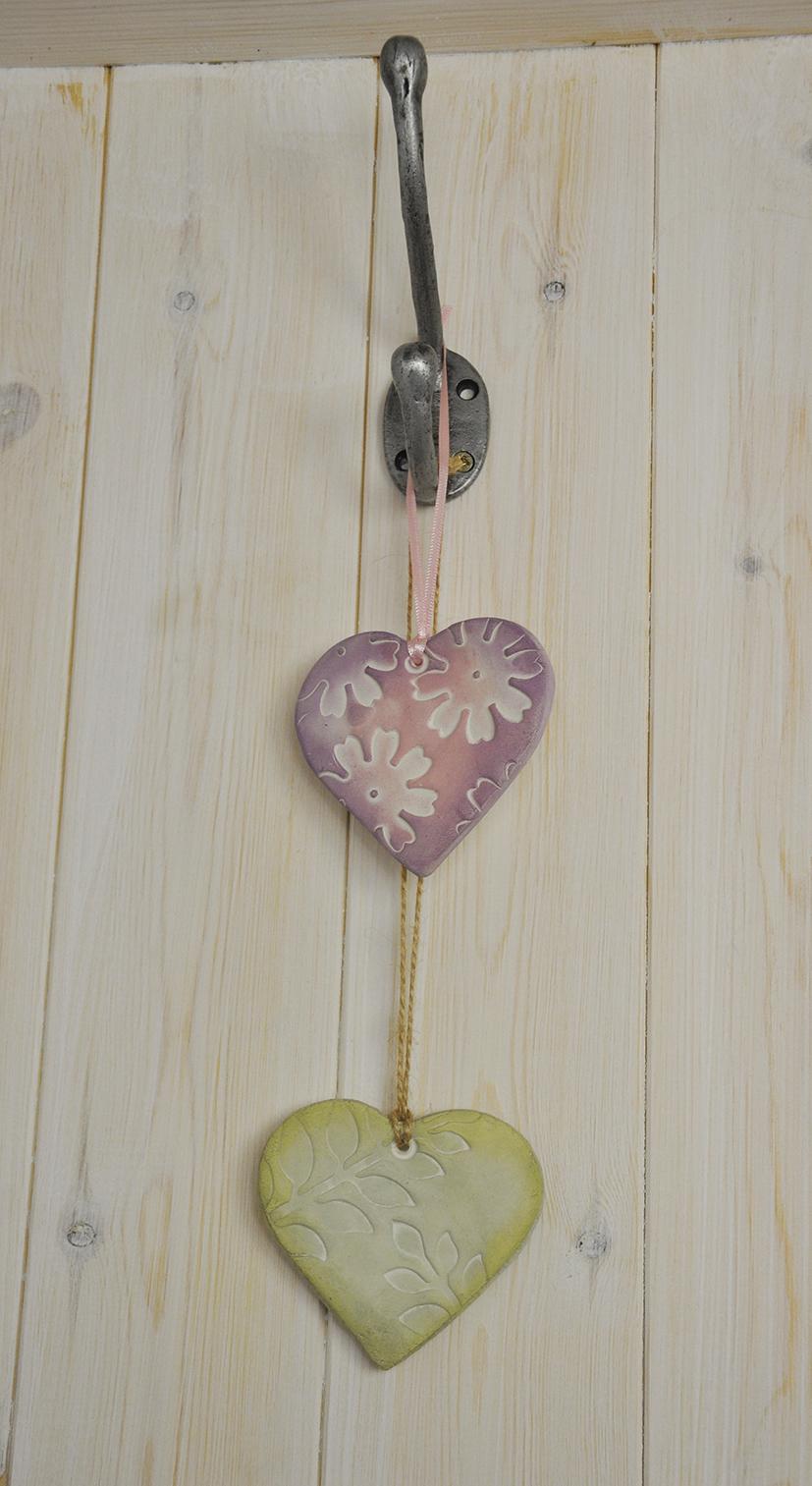 Clay Hearts 1