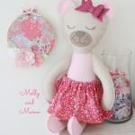 Hand Sew A Felt Teddy Bear Softee