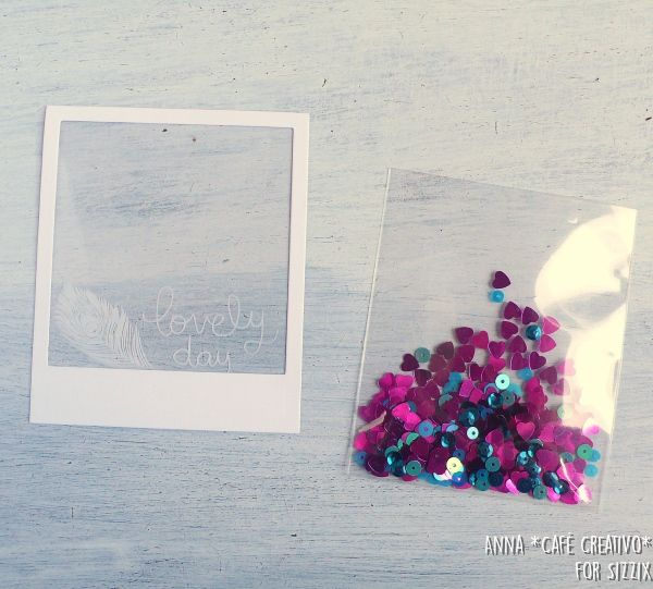 How to Make a Shaker Card using Sizzix Die
