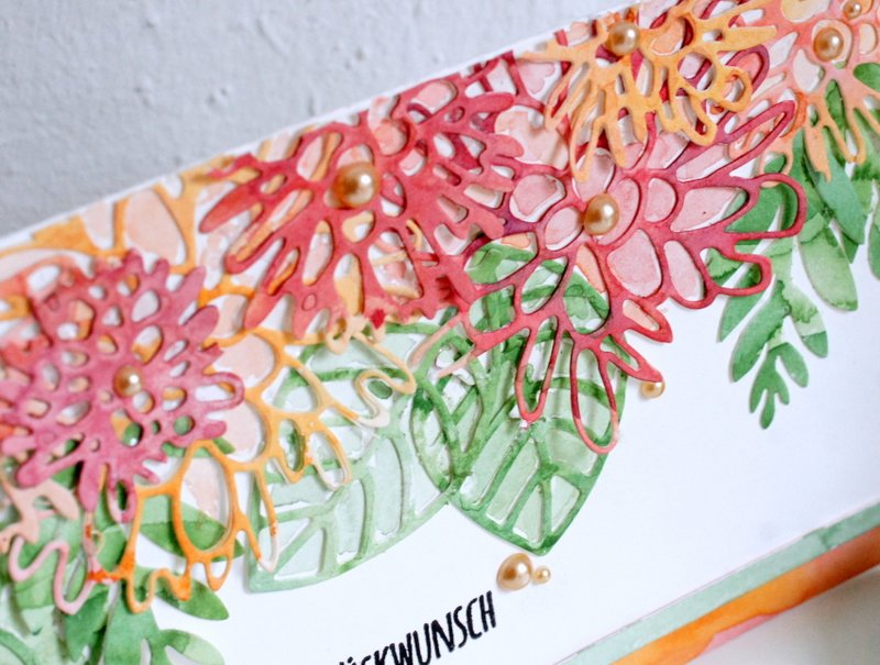 Watercolor Flowers Sizzix