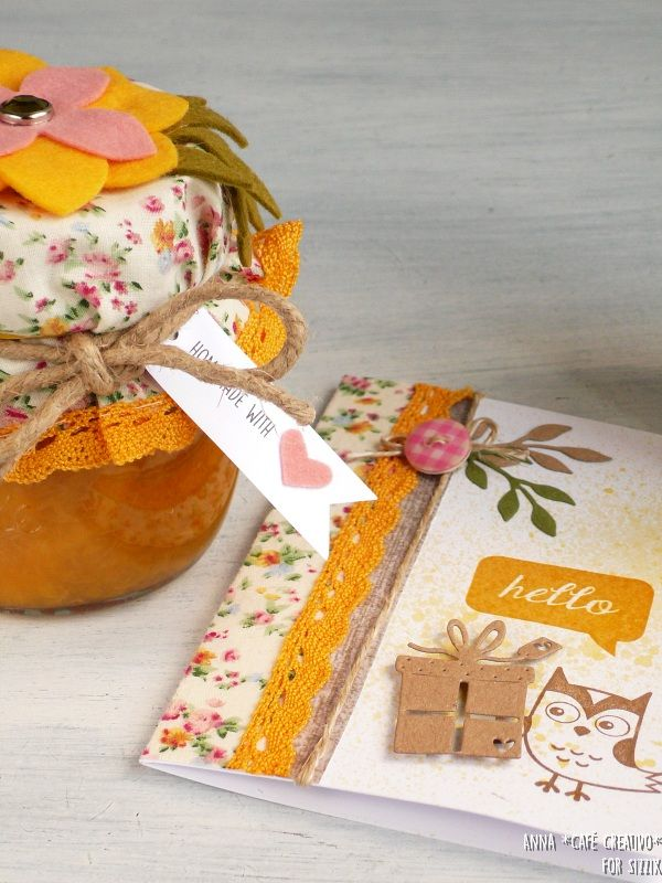 Create a Gift Set Jam Jar and Card using Sizzix Dies