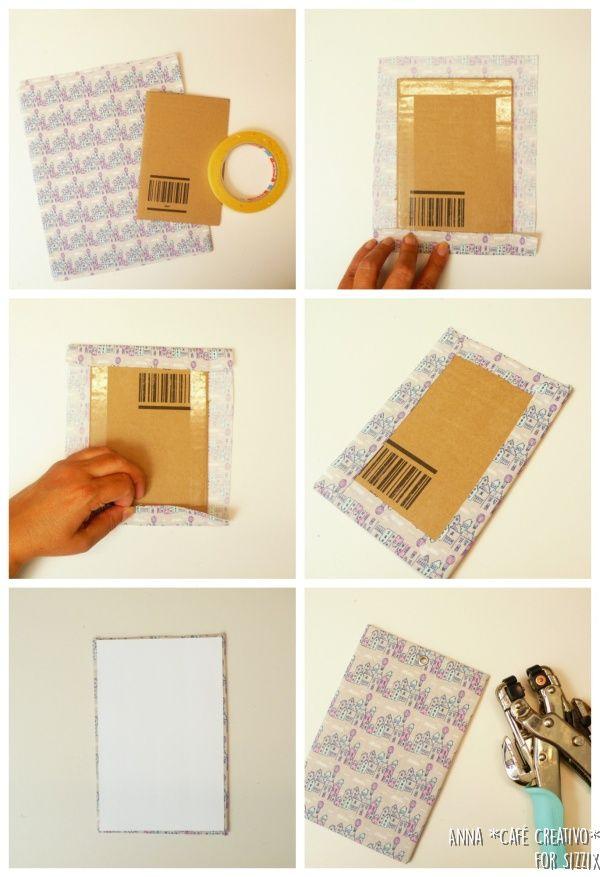 Grey Album Cardboard Art Paper Texture Bright Rough: Mini Album Using Sizzix Big Shot Plus Starter Kit