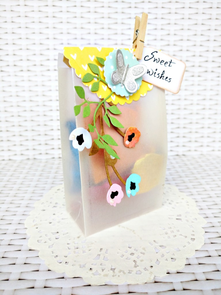 party favour bag sizzix by Jasleen Kaur
