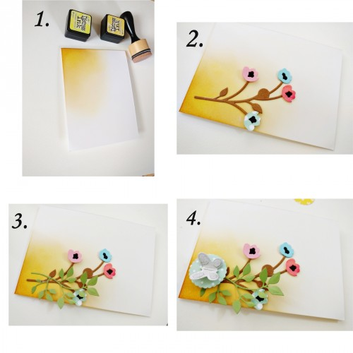 Card-making steps