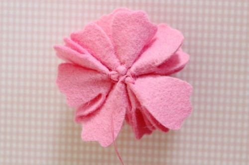 Felt Flower Hair Accessories from Molly and Mama - 12