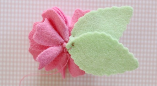 Felt Flower Hair Accessories from Molly and Mama - 13