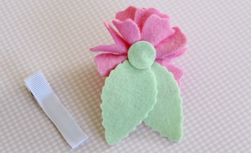 Felt Flower Hair Accessories from Molly and Mama - 14