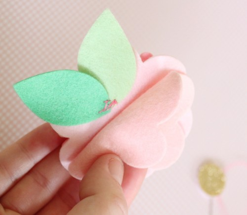 Felt Flower Hair Accessories from Molly and Mama - 4