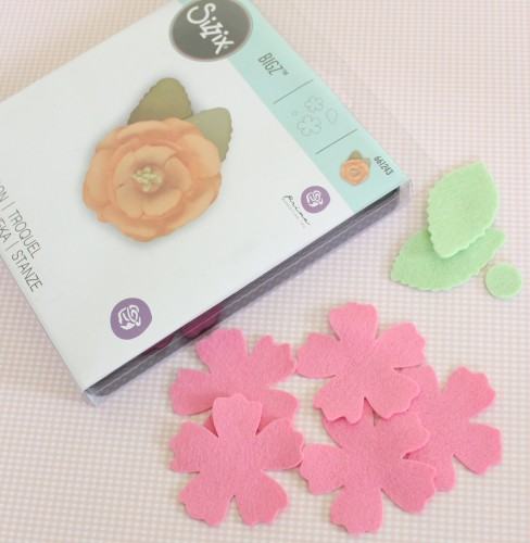 Felt Flower Hair Accessories from Molly and Mama - 9