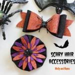 Make Felt Halloween Hair Clips