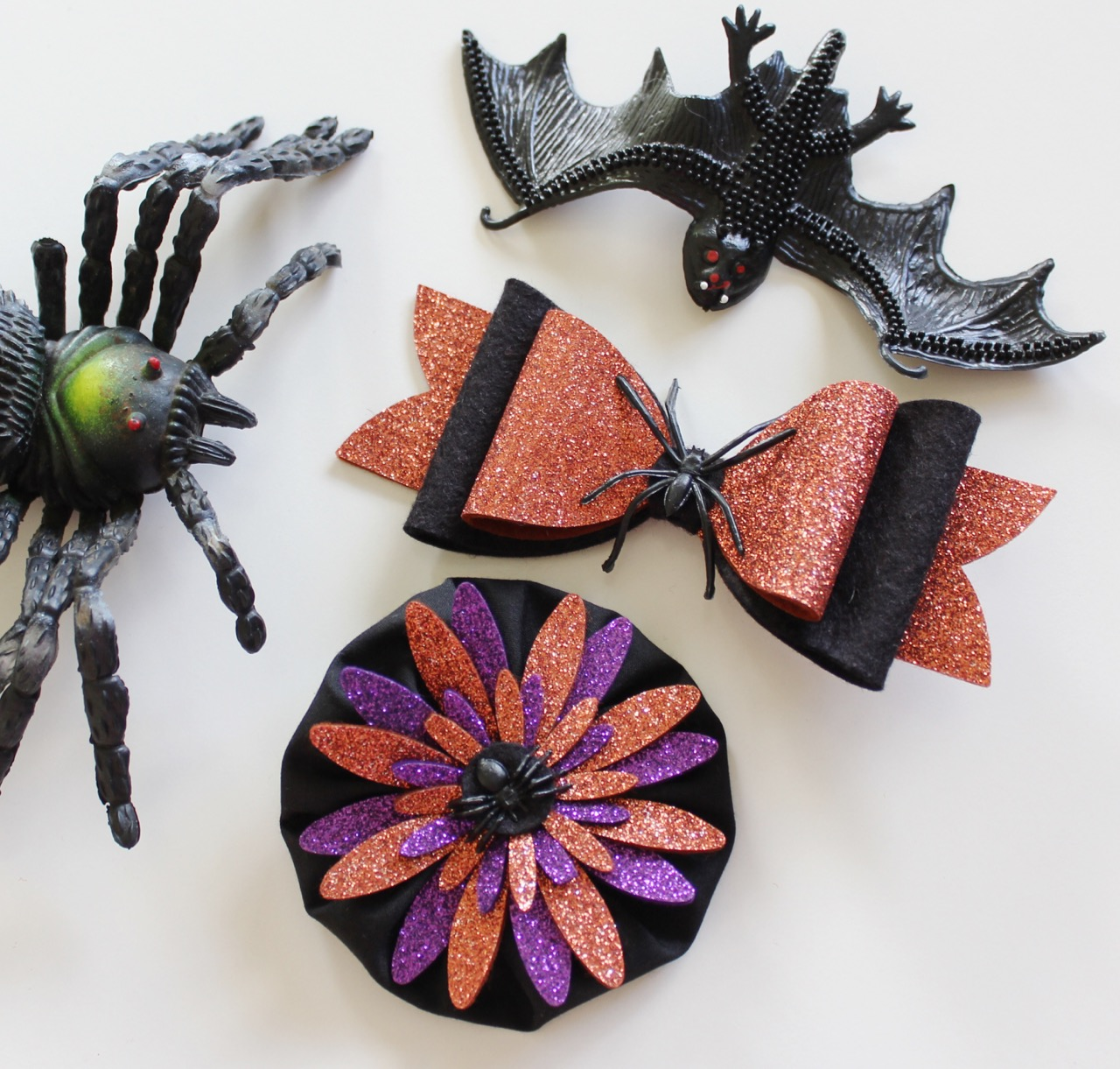 Scary Hair Clips from Molly and Mama