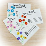 Birthday Invites and Tags