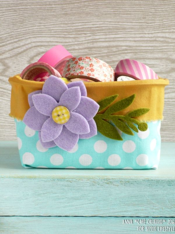 DIY recycling Plastic Container into a Storage Basket