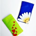 DIY Felt Phone Covers