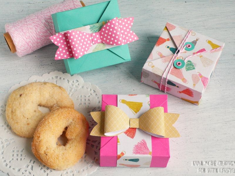 Party Favour box Every Occasion Sizzix Die