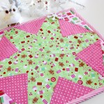 Make a Hex-Star Quilted Placemat