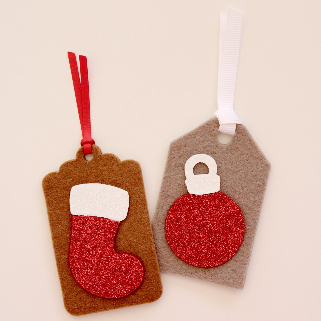 Christmas felt tags by Molly and Mama - 12