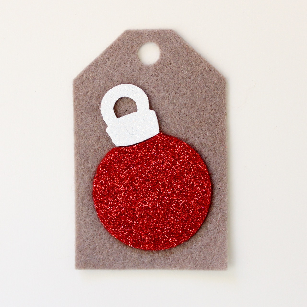 Christmas felt tags by Molly and Mama - 3