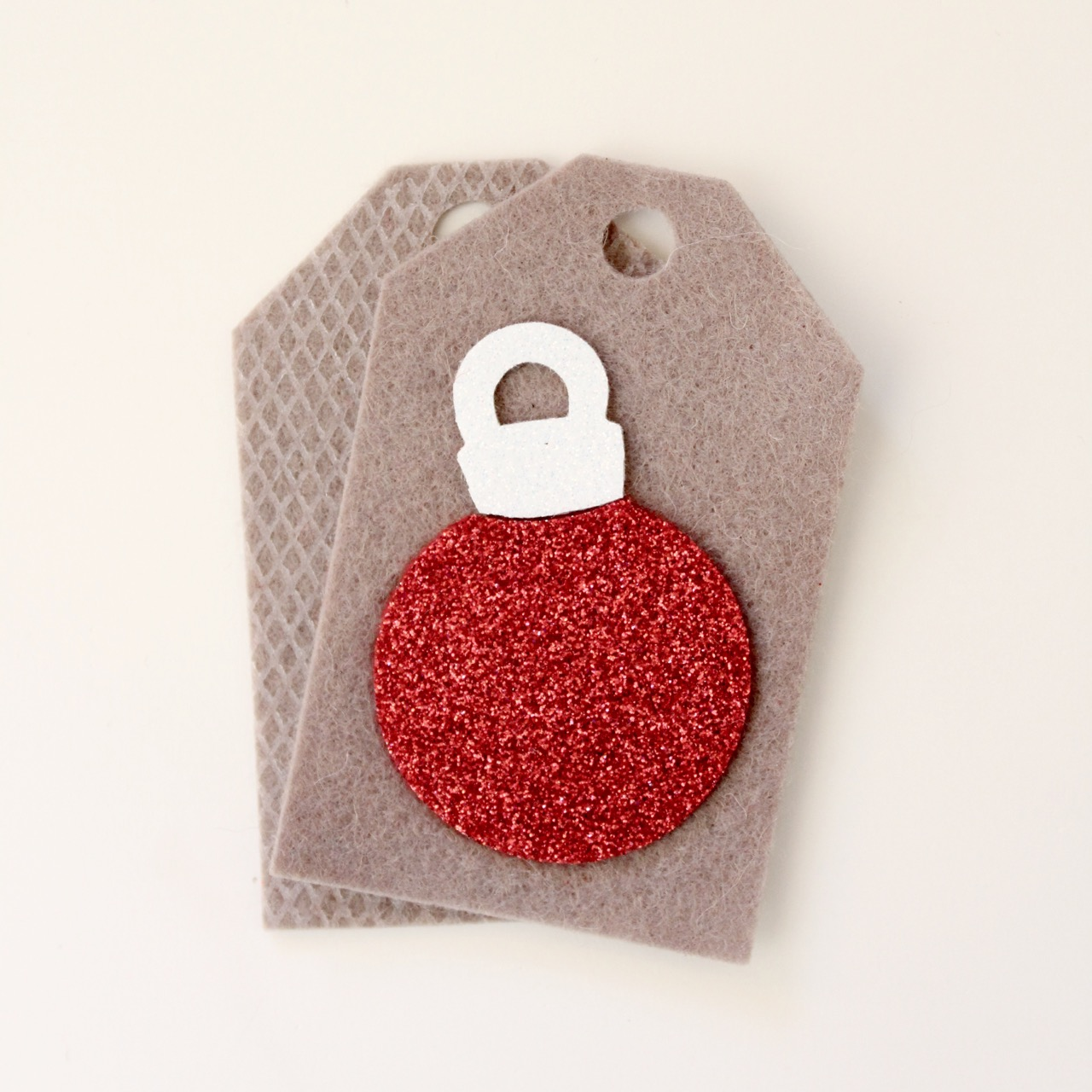 Christmas felt tags by Molly and Mama - 5