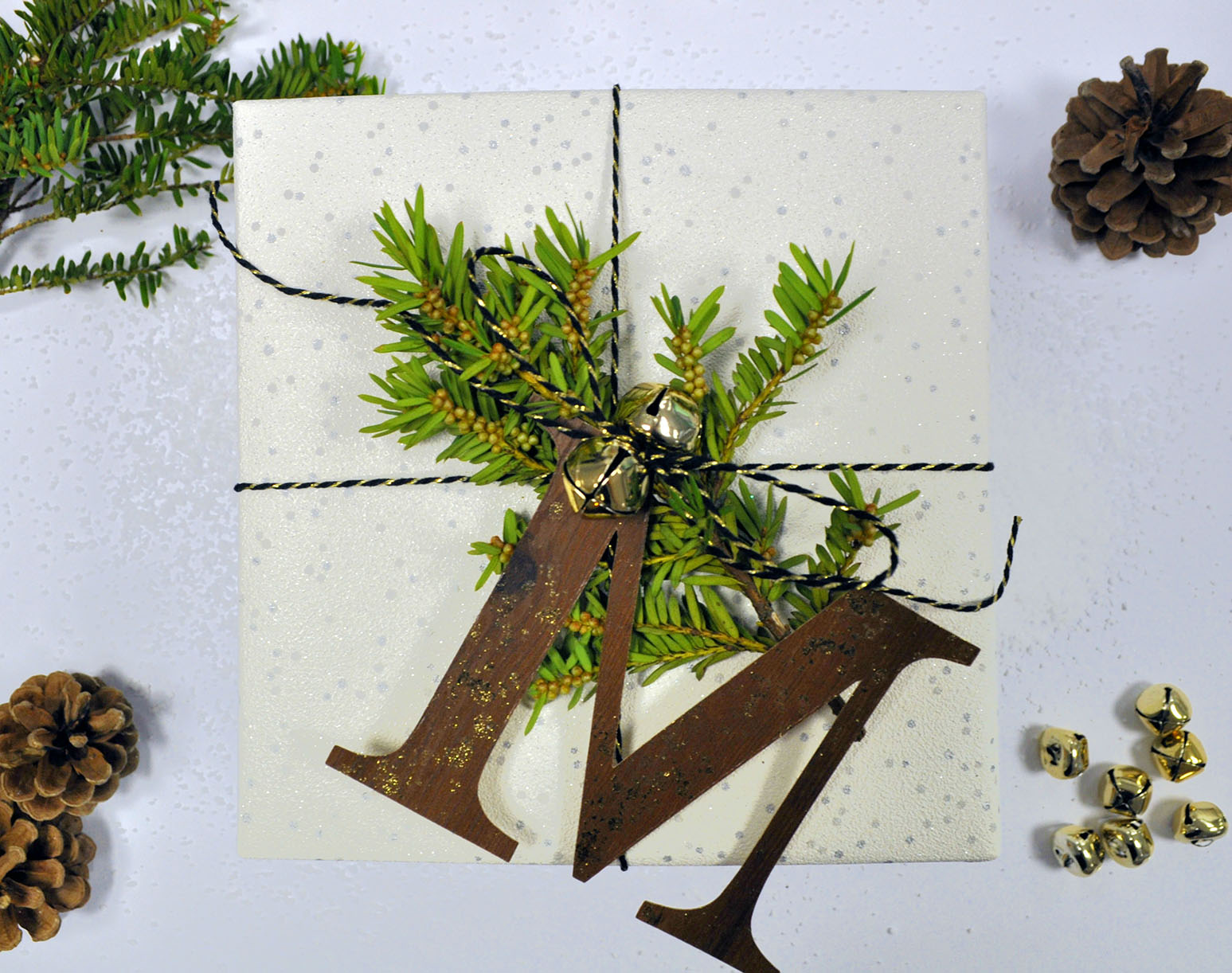 Christmas Letter Gift Wrap Ideas  Leanne Rowlands  Daily