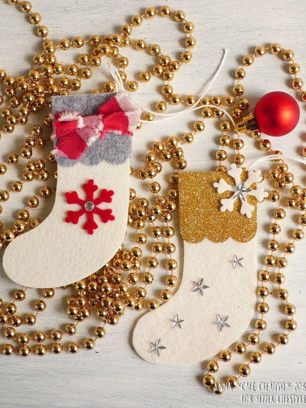 Sizzix Bigz Die Christmas Tree  Ornament  Snowflake /& Stocking