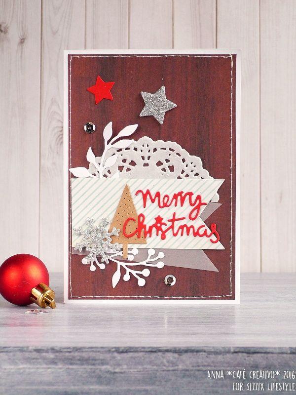 Merry Christmas Card Video Tutorial Anna Draicchio Daily