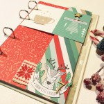 Winter or Christmas mini book by Karine Cazenave-Tapie