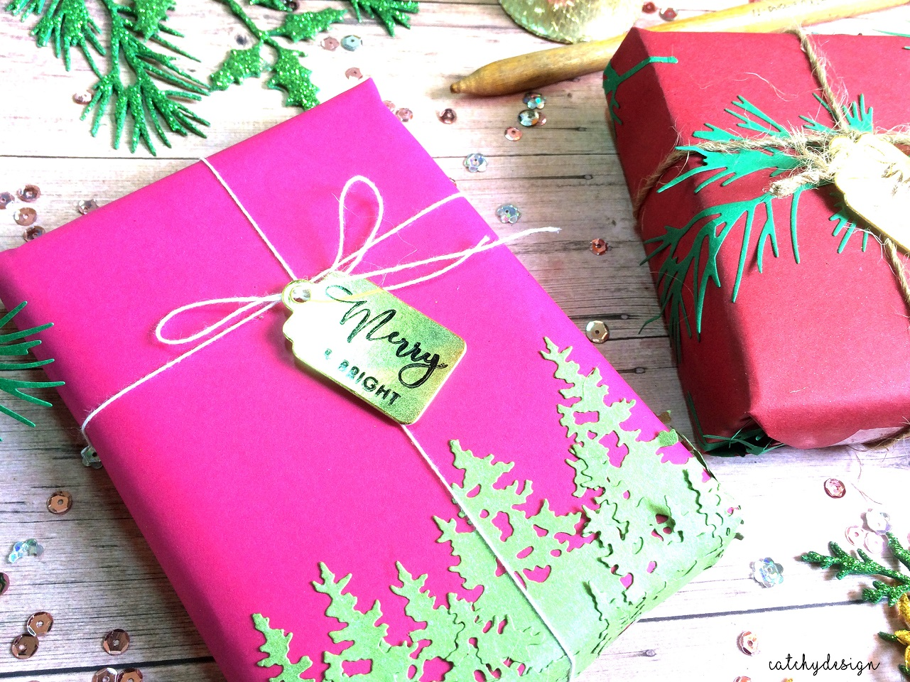 Make your own custom gift wrappers video dstephens daily sizzixgiftwraps3 negle Images