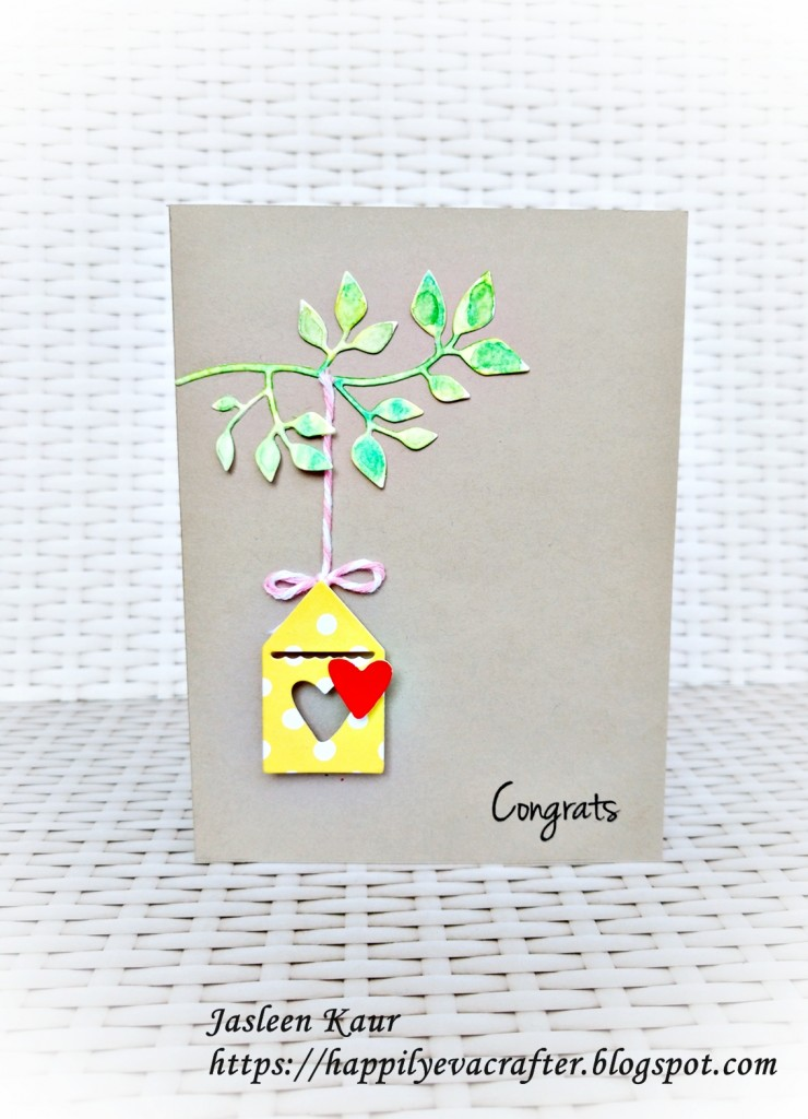 townhouse sizzix cards by jasleen kaur