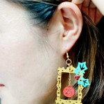 Christmas Shrink Plastic Earring