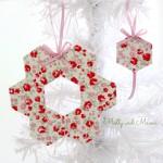 Make Hexagon Christmas Ornaments