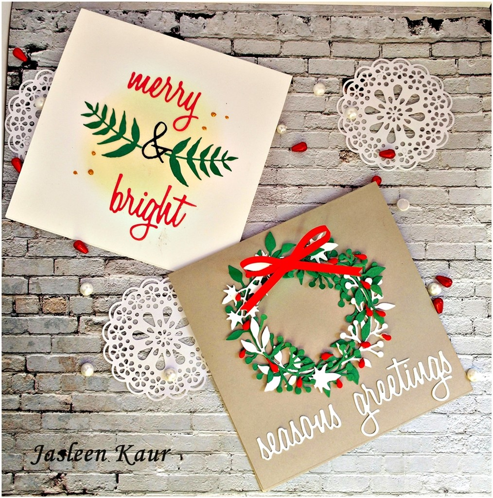 christmas_cards_sizzix_jasleen_kaur