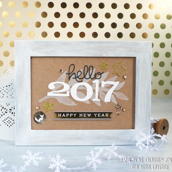 How to make a New Year's Eve Party Decoration using Sizzix die