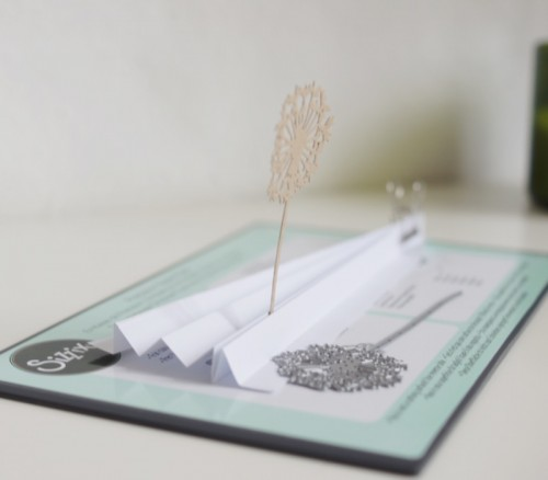 Ikea Frame with Sizzix Thinlits