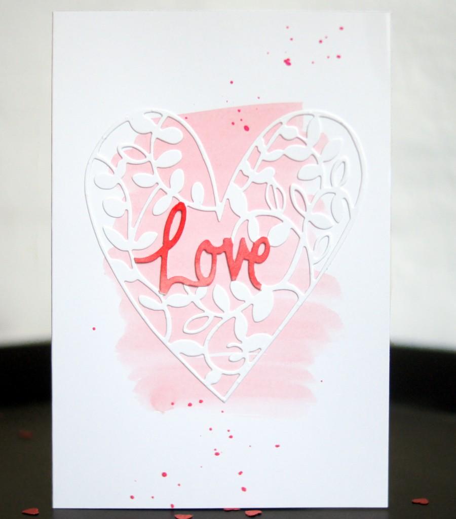 Valentines Card Sizzix