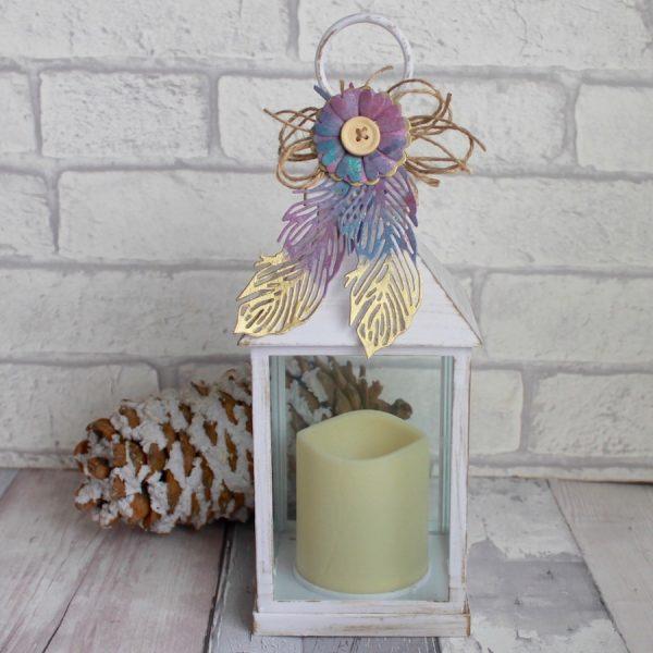 Delicate Feather Lantern