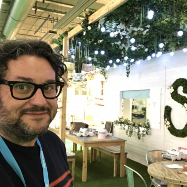My view of #mysizzixstory in Creativeworld 2017