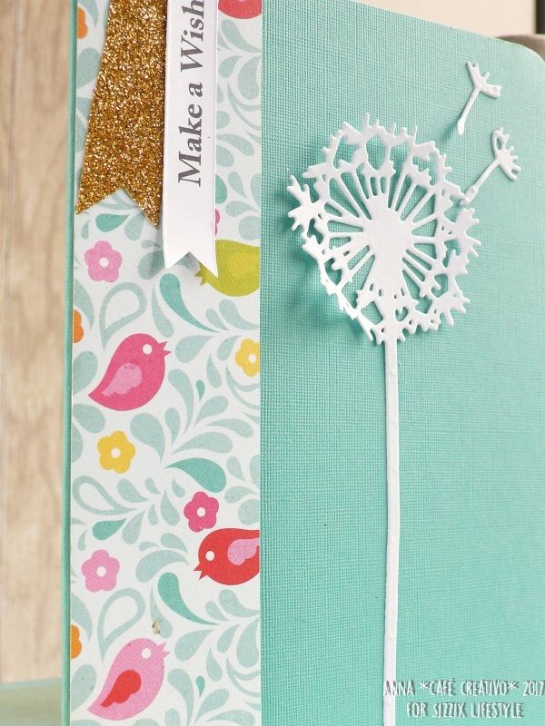 How to make Dandelion Birthday Card – Make a Wish