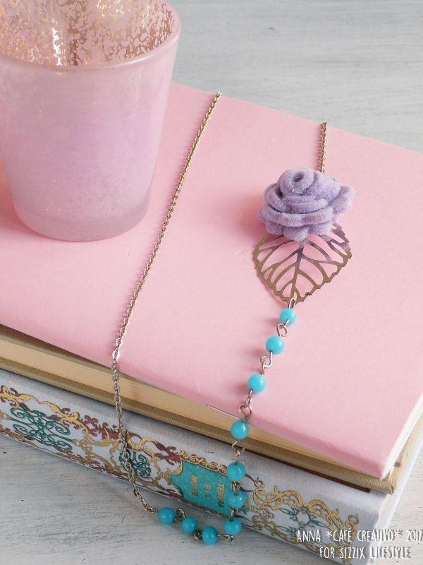 Make a Felt Flower 3-D Necklace using Sizzix Bigz die