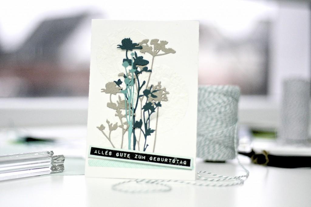 SIZZIX BirthdayCard